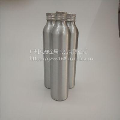 供应100毫升螺口长脖子机油燃油宝添加剂铝瓶