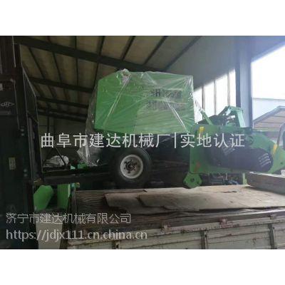 建达自动粉碎打捆一体机视频 雷沃玉米秸秆打捆机价格表