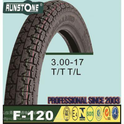 供应普通摩托车内外胎 3.00-17 真空胎 普通胎 内胎 可贴牌生产