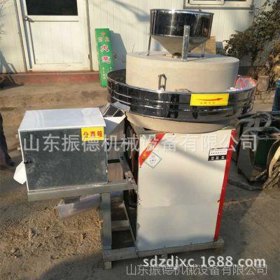 热销 五谷杂粮面粉石磨机 电动石磨机 半自动多功能面粉机