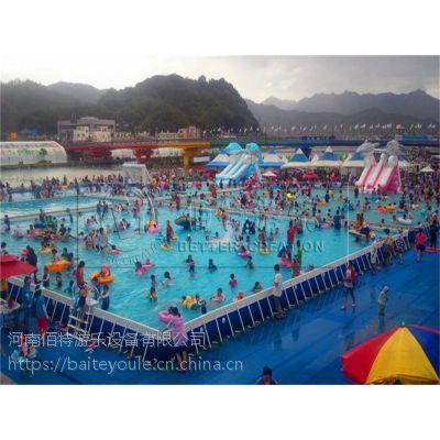 郑州充气水上乐园设备投资