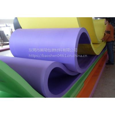 【厂家供应】彩色EVA泡棉 单面带胶环保EVA卷材 颜色按客户要求