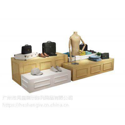 服装陈列架,高柜、中岛柜定制出售,河盛大品牌