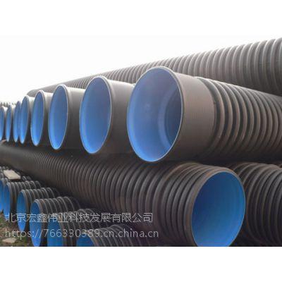北京HDPE双壁波纹管DN300SN8