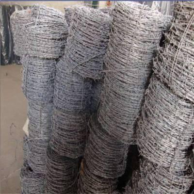 铁丝刺绳 刺绳防护网 昆明刀片滚笼