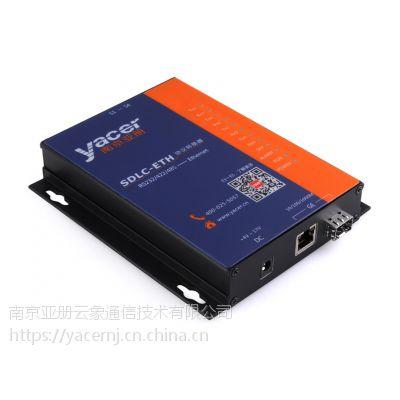 SDLC-ETH RS232/422/485 异步UART、BIT流 高速串口以太网转换器