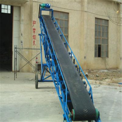 沙场圆管带式输送机 兴亚粮食带式输送机款式