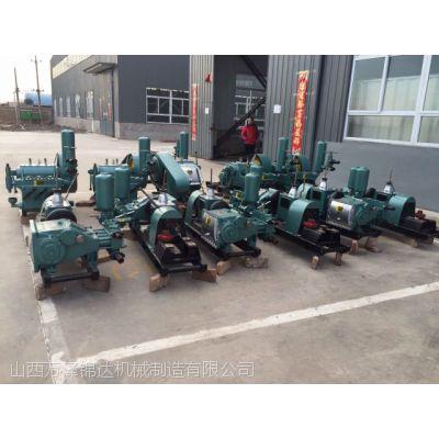 BW150泥浆泵注浆机施工现场山西太原