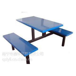 扶绥学校饭堂用餐桌椅_餐桌椅厂家