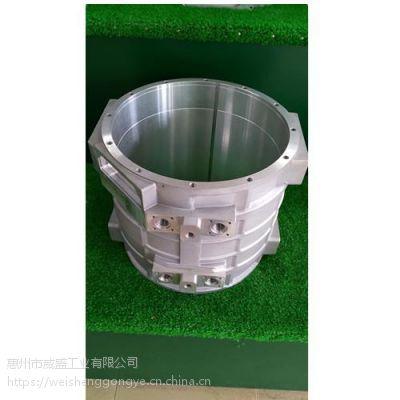 铝合金水冷电机壳 水冷新能源汽车电机外壳 低压铸造机座