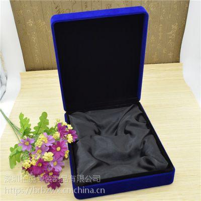 高档特色可定做蓝色特种纸金币盒