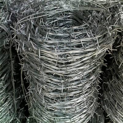 铁蒺藜围栏 刀片刺绳护栏网 镀锌钢丝刺绳批发商