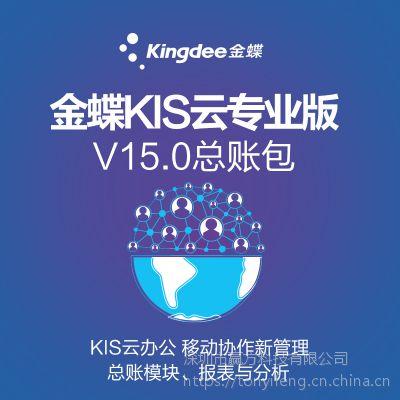 金蝶KIS云专业版V15.0总账包 财务记账管理ERP电脑软件报表分析