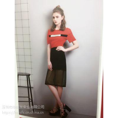 红袖女装加盟艾莲达低价女装批发品牌折扣店哪个牌子好
