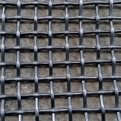 养猪轧花网片 矿筛轧花网型号 锰钢矿筛网