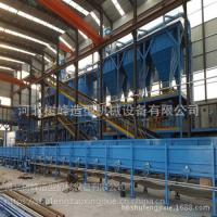 铸造铸铁井盖篦子造型流水线设备 垂直造型生产线厂家