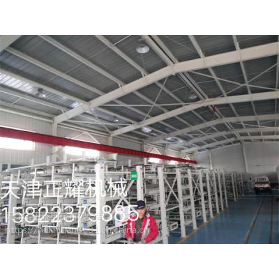 江苏伸缩式铝型材货架行车存取方便占地少