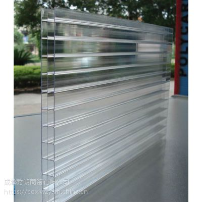 成都不锈钢阳光板雨棚板材供应、成都阳台阳光板、PC车棚阳光板PC耐力板供应