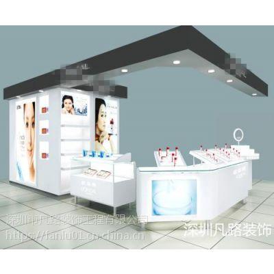 凡路展柜定制 商场化妆品专柜展柜 单柜 化妆品展柜 化妆品高柜 生产厂家
