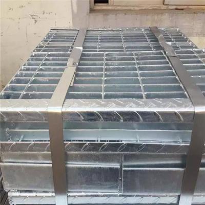 走道钢格栅 钻井平台钢格板 钢格栅板厂家