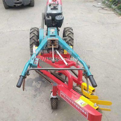 厂家生产小型手扶拖拉机带动花生收获机 高效率家用大蒜收获机