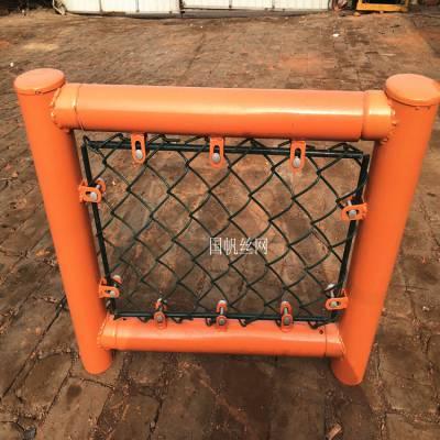 供应羽毛球场地围网 网球场护栏网 球场围栏价格