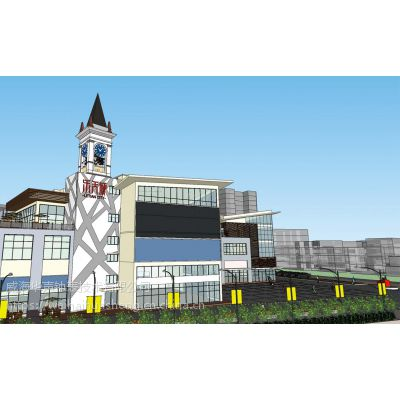 客户满意的楼顶大型钟/墙面钟/户外大钟专业化厂家