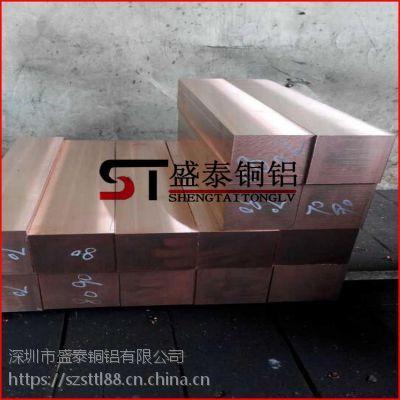 盛泰供应:T1特厚紫铜板 进口环保紫铜板 量大从优