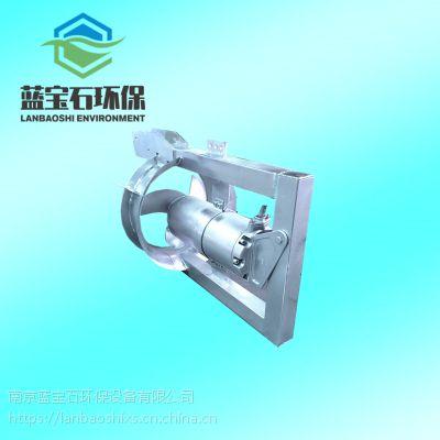 南京市碳钢潜水回流泵 不锈钢潜水回流泵QHB型混合液回流专业设备