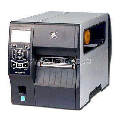供应河南郑州斑马zt410zebra条码机ZT410工业级条码标签打印机带网口 ZT410