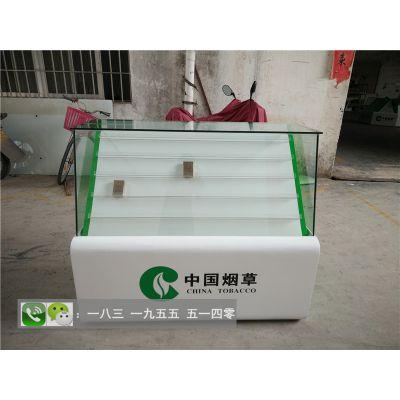 伊犁厂家正品烤漆烟柜酒柜 小型放烟的玻璃柜子 卷烟散烟展示柜