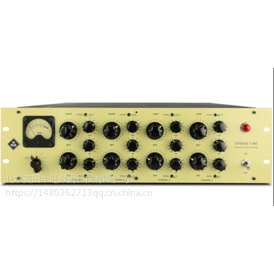 IGS Audio Springtime Analog Studio Reverb 混响效果器+EQ