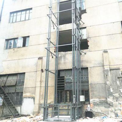 福建厂家直销2吨固定式升降货梯 导轨式液压升降平台 电动提升机
