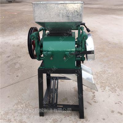 承德家庭用豆扁机小型的产量 豆子麦仁压扁机
