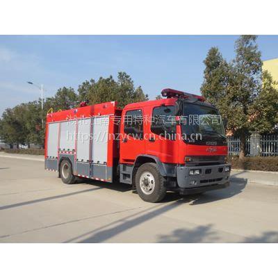 深圳JDF5153GXFSG60型 庆铃6吨水罐消防车价格