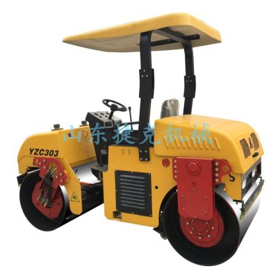 山东捷克3吨全齿轮压路机小型压路机厂家直销