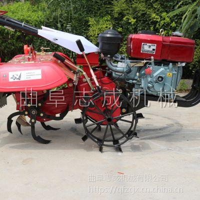 优质四驱农用开沟机 手扶大棚松土翻地拖拉机 四驱汽油微耕机