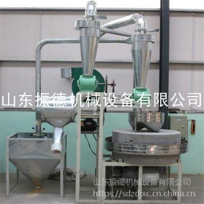 小麦面粉石磨机 食品加工机械 振德 现货五谷杂粮石磨磨粉机 低价促销