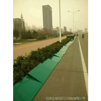 绿化防寒围挡挡雪板安装配件挡雪板挡盐板尺寸规格