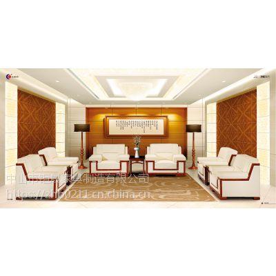 中山钜晟家具、做的办公家具、迎宾沙发JS-1003