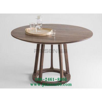 美式创意实木茶几家用客厅餐桌复古做旧创意休闲酒吧咖啡厅