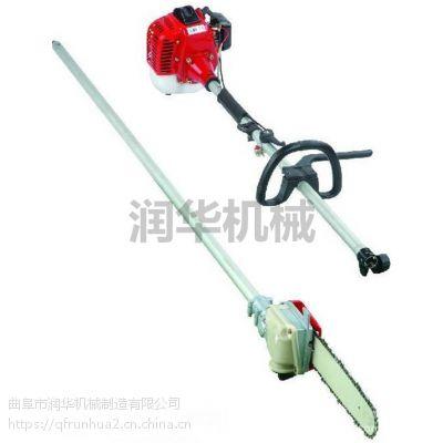 桃树剪枝高枝锯 可换刀头多功能高枝剪 润华 锯切效率高的高空剪枝机