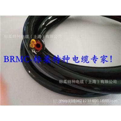 气电电缆 带气管电缆 聚氨酯护套
