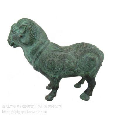 猪牛羊三牲青铜器工艺品 文庙宗庙祭祀用品礼器