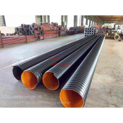 HDPE钢带增强螺旋波纹管产品特性-国润