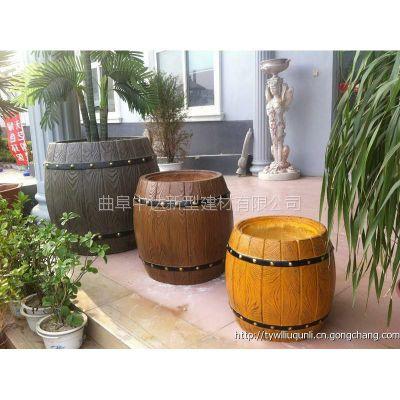 兖州专业生产钢筋混凝土仿木/仿石系列,花桶、花箱、坐凳、凉亭、河堤护栏
