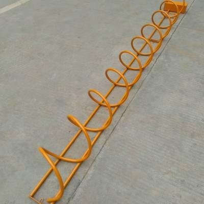 供应供应圈圈型自行车停车架报价图片