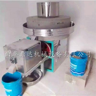 小型石磨面粉机价格 电动石磨面粉机械成套设备