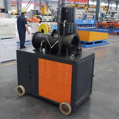 中拓钢筋镦粗机厂家供货直螺纹钢加工设备