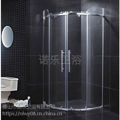 佛山诺乐卫浴简易淋浴房/R-004非标定做/淋浴房批发/淋浴房生产厂家/淋浴房/304不锈钢